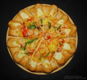Round Pizza Stone Dia381mm for cooking pizza