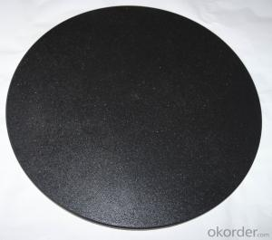 Non-Stick pizza baking stone with dual-purpose