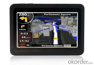 4.3 inch GPS Navigation System with 480*272 Pixels Resolution