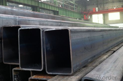 steel rectangular shaped tube with various specification