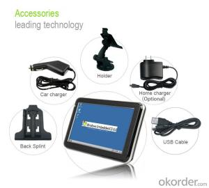 4.3 inch Portable GPS Navigation for Car/ Vehicle/ Truck