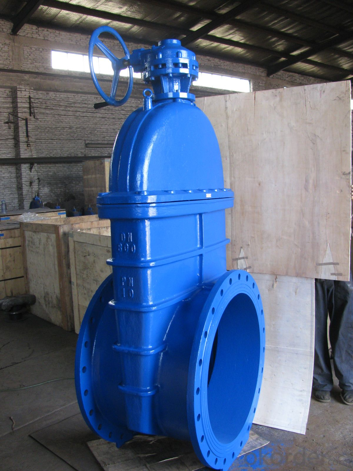 Masoneilan manual control butterfly valve