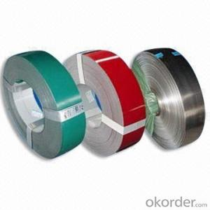 Prepainted steel coils   PPGI WHITE RED COLOR