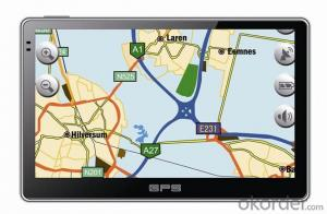 7-inch GPS Navigation System with 800*480, ISDBT