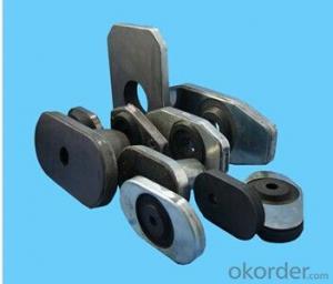 Refractory Graphite Steel Ladle Slide Gate Plate