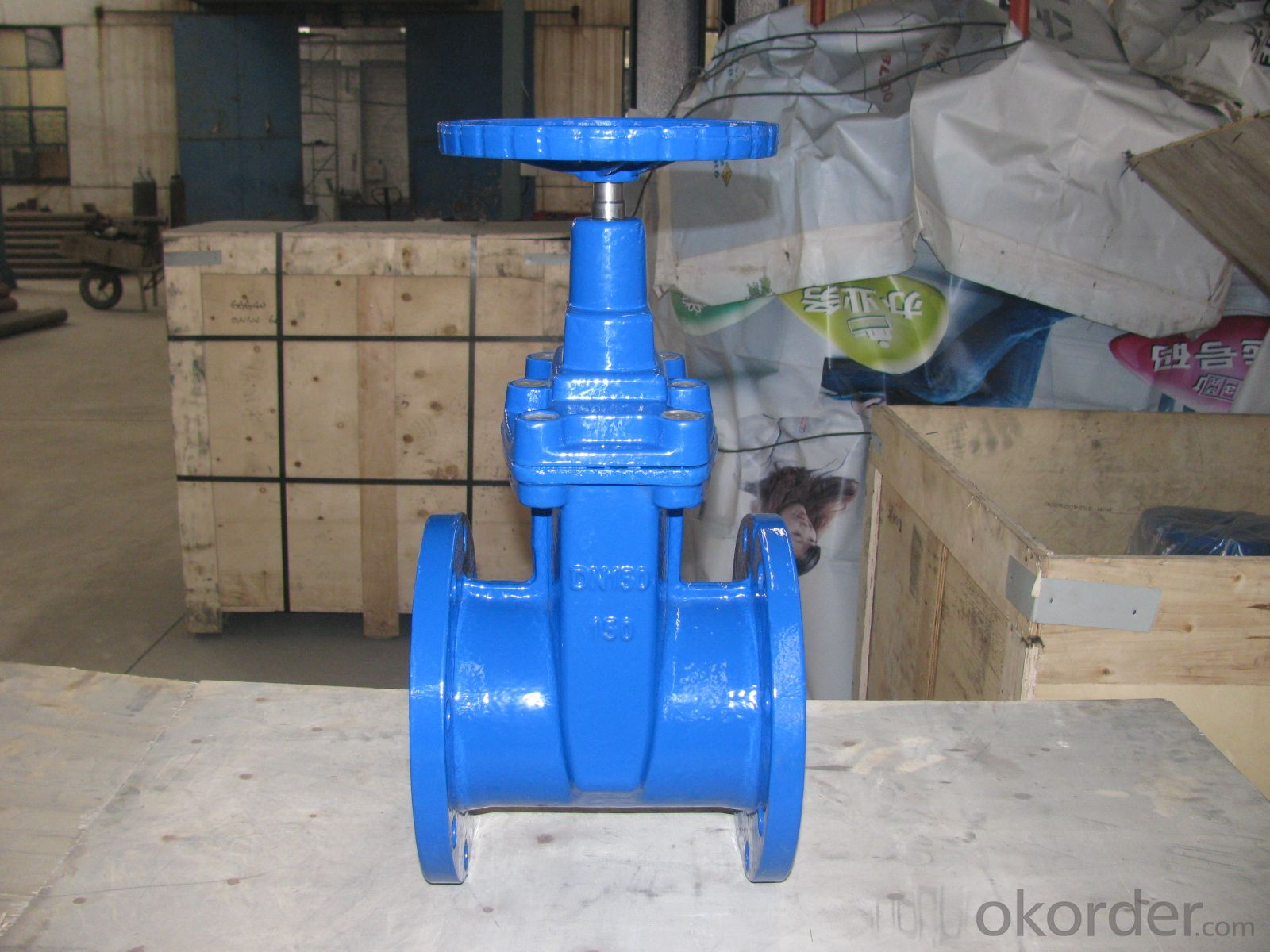 Ductile iron valve Action sensitive stainless steel 304