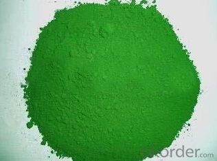 Chrome Green Pigment Organic Pigment Powder