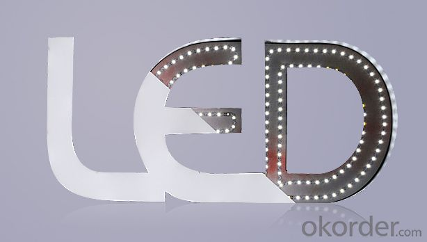 Strip 2835 12V 300leds bendable led strip for corner of letter