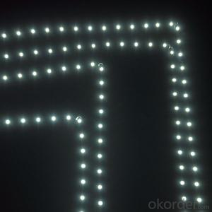 6mm width strip 2835 12V 600leds bendable led strip for corner of letter