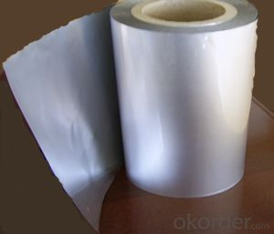 AL+PET+LDPE insulation and EPE foam foil mylar film for heat seal