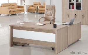 Executive Desk Table Hight Quality Wood Melamine/Glass Office Table Desk  1808