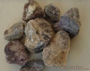 High Purity Small Size 80% CaF2 Fluorite Fluorspar