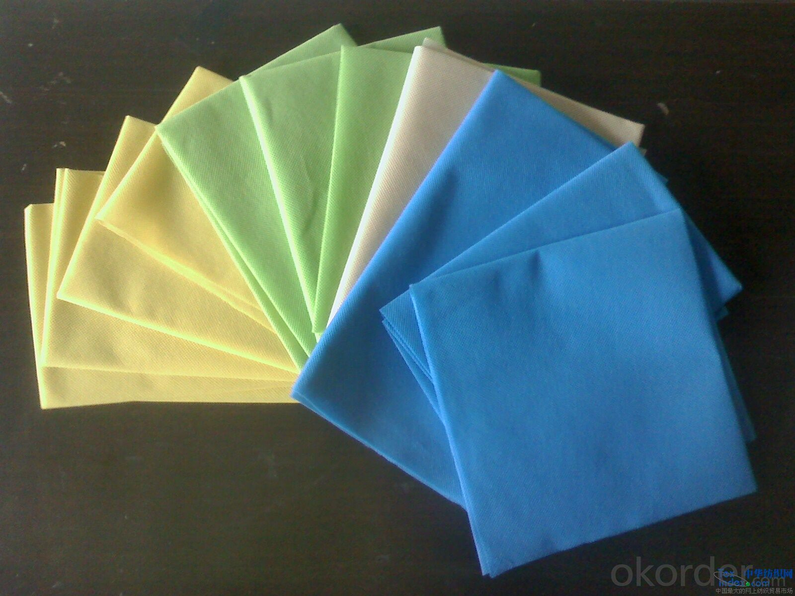 viscose polyester spunlace nonwoven fabric rolls for wet wipes  of CNBM in China