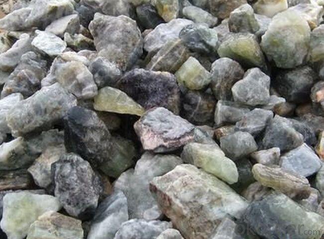 Fluorite 90% Small size lump hot sale 2015