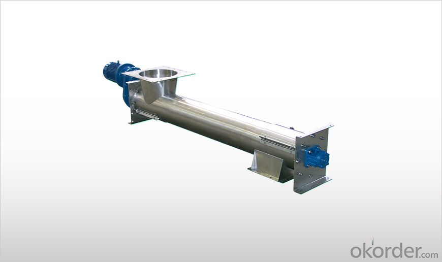 WAM Stainless Steel Tubular Screw Conveyors TX