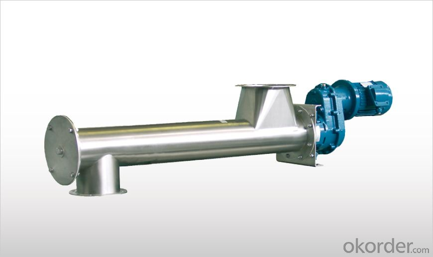 EASYCLEAN Minimum Residue Tubular Screw Feeders