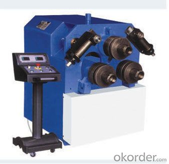 Independent Hydraulic System Three Roller Profile Bending Machine