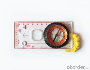 Good Mapor Ruler Mini-Compass DC45-5C for Surveying
