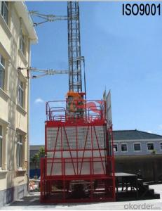 Building Hoist Single Cage for Material Transporting