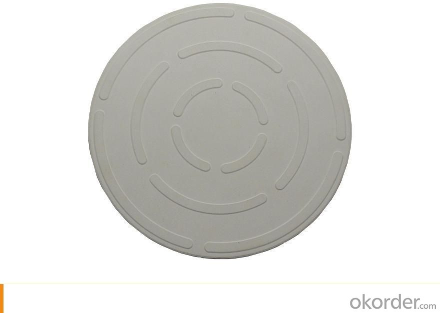 Round Pizza Stone Dia330mm with lines for cooking pizza