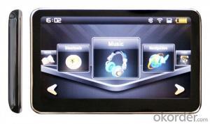 4.3 inch FM Radio GPS Navigation,  Bluetooth, AV-in, ISDB-T Analog TV Supported