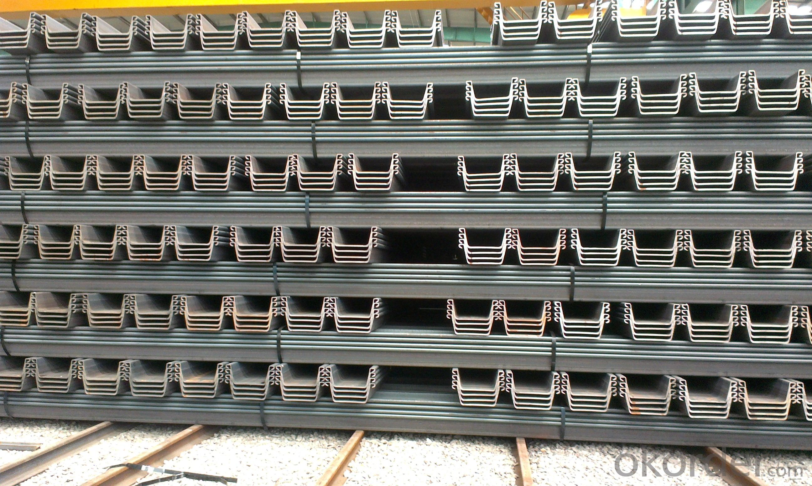 Steel Sheet Piling/European Standard U Steel Sheet Pile/hot rolled steel sheet piles