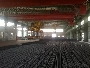 Hot Rolled Deformed Steel Rebars ASTM, GB HRB400Cr, HRB500Cr