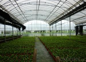 Polycarboante greenhouse design for agriculture