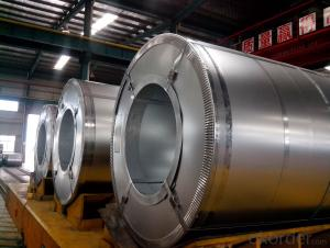 Galvanized steel coil  Z275 No spangle  SIZE:0.5*1000/1200mm