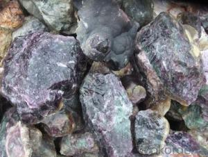 Fluorite 90% Small size lump hot sale good price