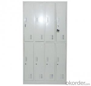 Locker Steel Cabinet Office Furniture School Double Door