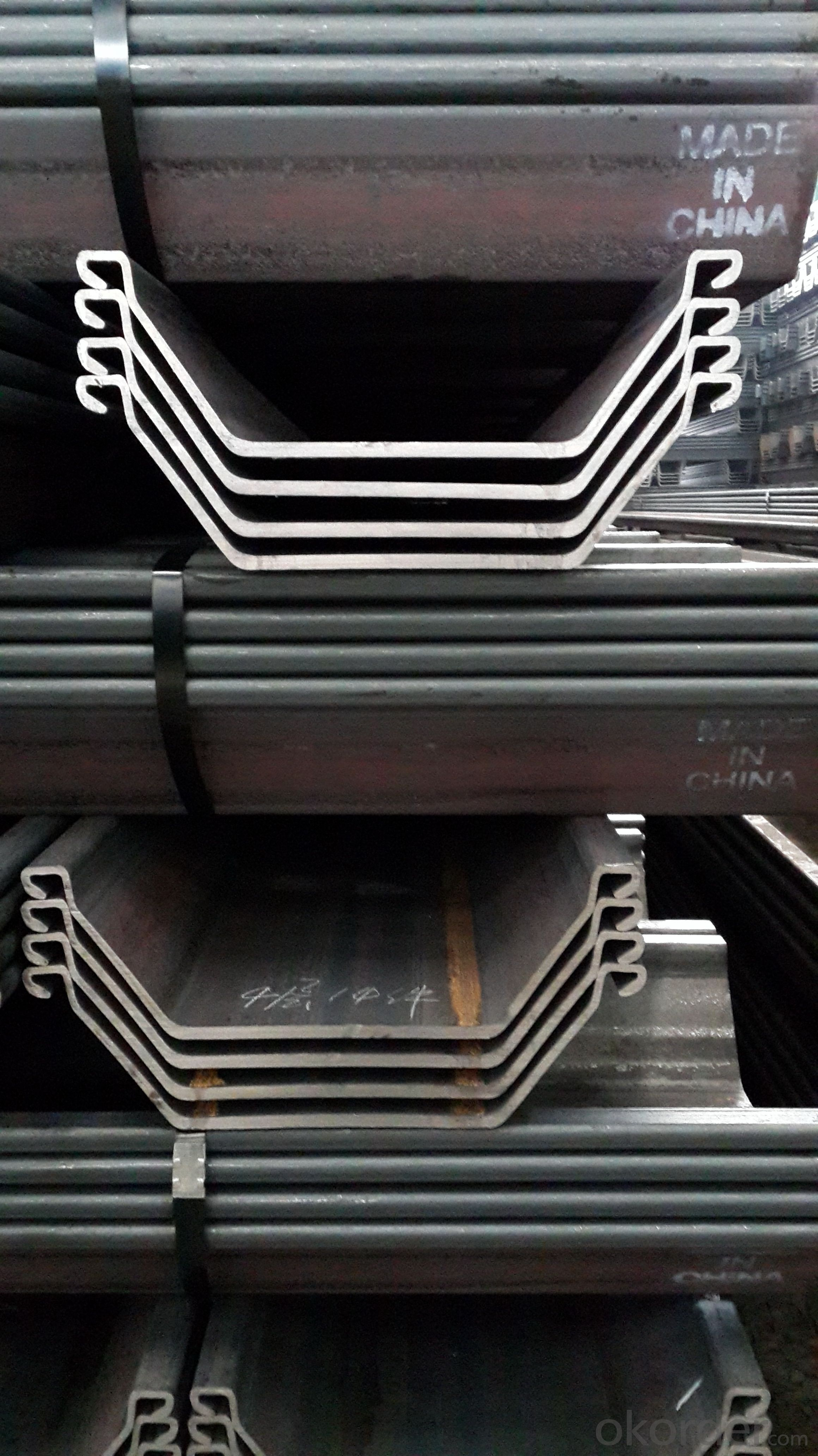 Hot Rolled Steel Sheet Pile with Best Price