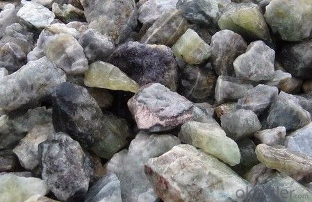 Fluorite/Fluorspar - Metallurgical Grade Lump  Granular