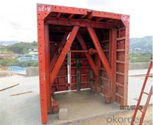 Steel-Tunnel for formwork and scaffolding system