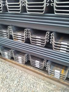 U Steel Sheet Pile (600*400*9mm*L)