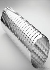 Aluminum Flexible Duct For Ventilation Use