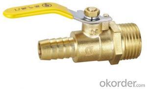 Brass ball valve - CW617N 1/2