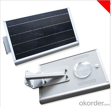 Small Volume All In One Integrated Solar Street Light 12W