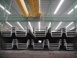 Steel Sheet Pile 400*125mm sy295