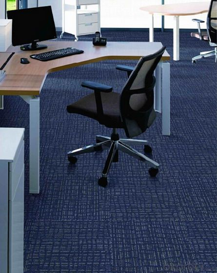 Nylon Jacquard Multi-level Loop Pile Carpet Tile