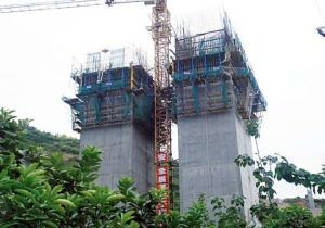 Climbing-Bracket for formwork and scaffolding system