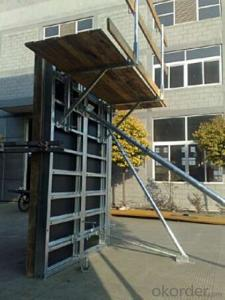 Steel-Frame Working Platformfor Formwork and Scaffolding systems