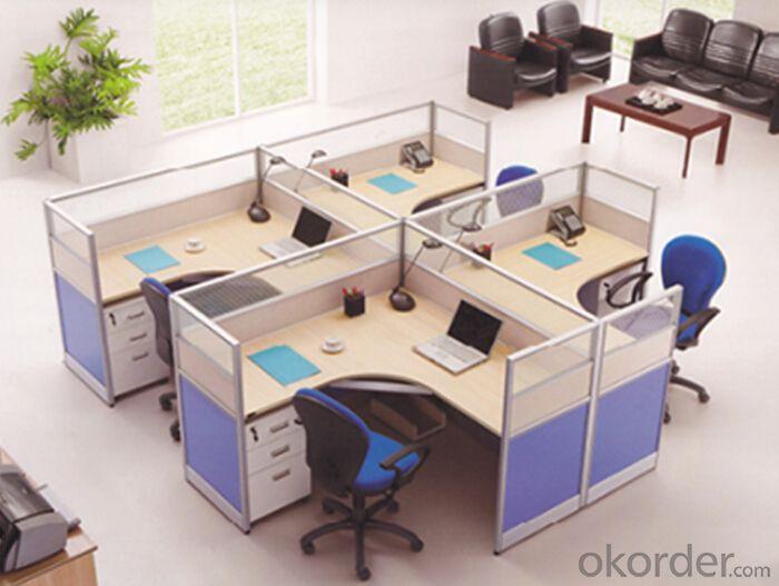 Office Table/Desk Modern Wood MDF Melamine/Glass Modular CN920