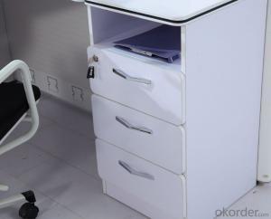 Modern Wooden MDF Melamine/Glass Modular Office Desk CN6892
