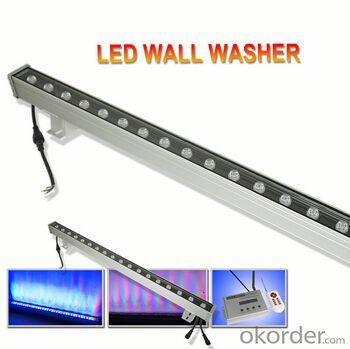 DMX 512 Control RGB Epistar Chip 18W 1M LED Wall Washer