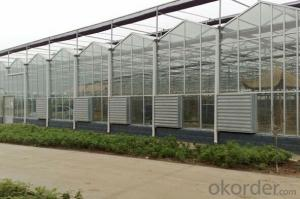 Multi-span greenhouses garden greenhouse polycarbonate