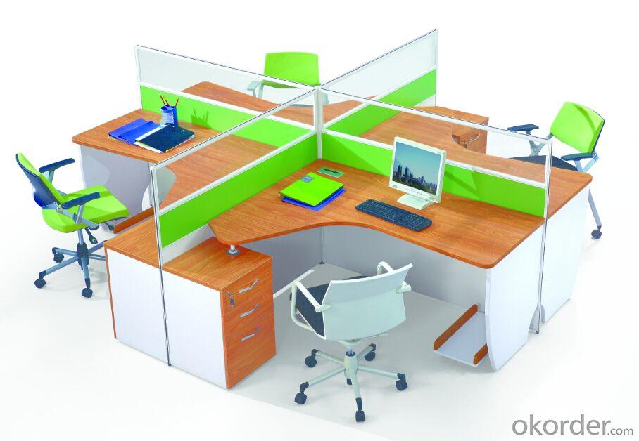 Office Table/ Excutive Desk Modern Wooden MDF Melamine/Glass Modular  AM688