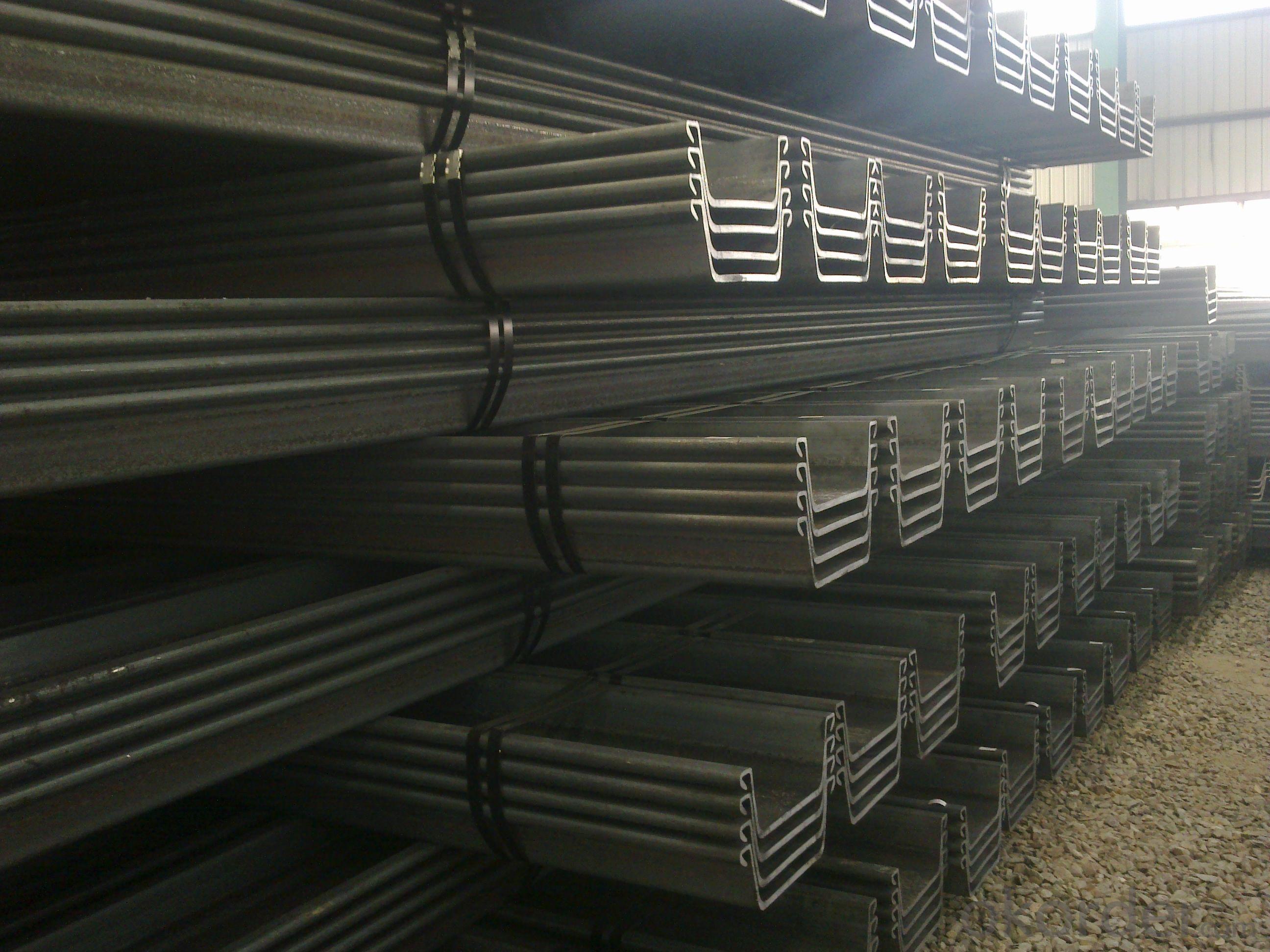 Japanese Standard U-shaped Steel Sheet Pile
