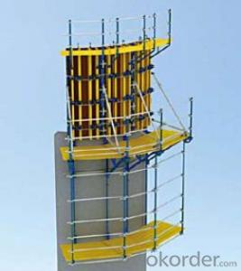 Climbing-platform CP190 for formwork and scaffolding system