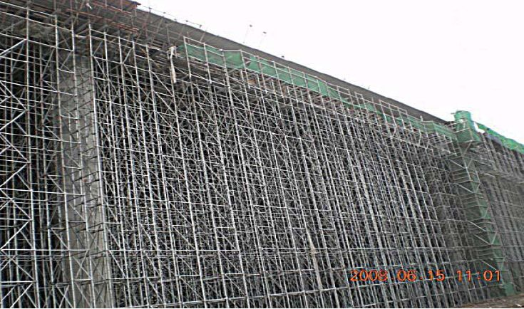 Tower-Scaffolding for Formwork and Scaffolding systems